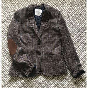 H&M   Plaid Blazer   Size 6
